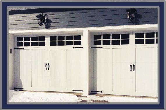 GARAGE DOORS By Maslyn Door Co.