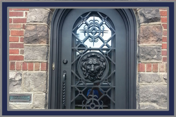 WHY CHOOSE IRON? Durable effective stylish and safe. & Custom Iron Doors and Gates NJ - Maslyn Door Co. - Entry Garage ...